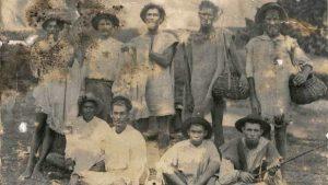Irish slave laborers