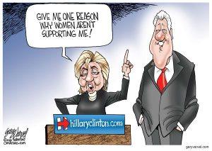 Cartoonist Gary Varvel: Hillary and women voters